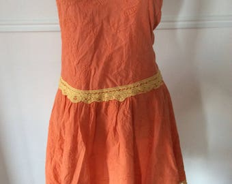 Summer Dress orange 1960s