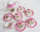 Pink Fragonard Demitasse ...