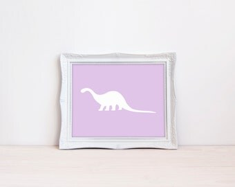 "Mix + Match Dinosaur 8""x10"" Printable Wall Art 