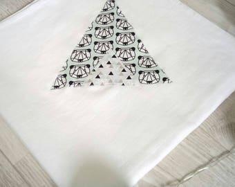 Swaddle baby boy ~ teepee pattern