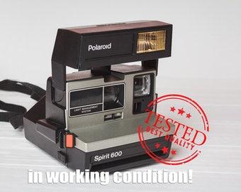 Polaroid Spirit 600 Polaroid Instant Camera Vintage Camera Retro Camera with original box Gift for photographer Film 600 Wedding photo prop
