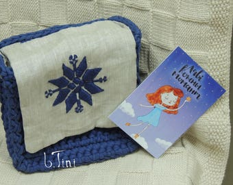 Bag with belarusian ornament