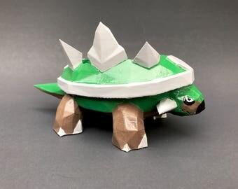 Torterra Pokemon Succulent Planter Pot; Pokemon Planter; Bonsai Tree Planter; 3D Printed; DIY Project
