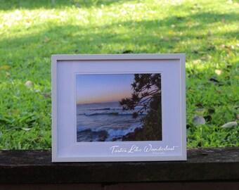 Framed Print 8x10     Coolangatta Sunset, Australia