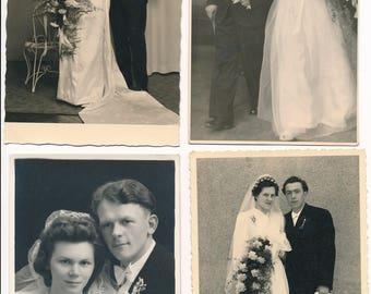 Konvolut an schönen Hochzeitsfotos - Set of beautiful wedding photos!