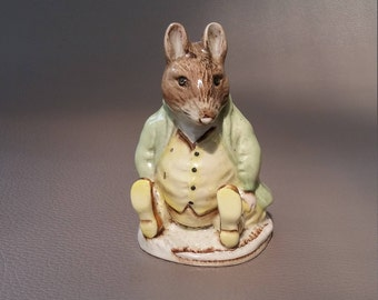 Royal Albert, Beatrix Potter, Samuel Whiskers, figurine by Royal Albert of England copyright 1989