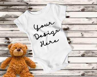 Custom Bodysuit, Customized Bodysuit, Customized Onesie, Custom Onesie, Custom Baby Bodysuit, Personalized Baby Gift, Baby Shower Gift