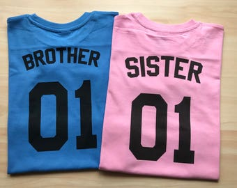 Brother Sister matching outfits, Big Brother, Little Sister Shirts, Sibling Shirts, Brother Sister shirts, Matching Shirt Sets, Kids Shirts