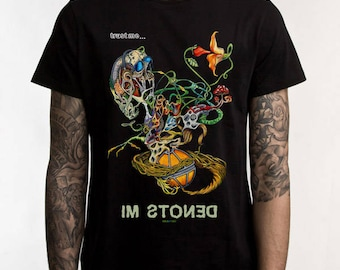 Trust Me... I'm Stoned Hallucinogenic T-Shirt Men's Women's Unisex, Graphic Tee, Original Art