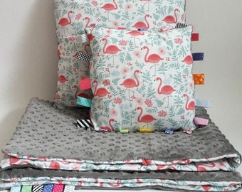 Baby Bedding Set, Blanket and 2 Pillows