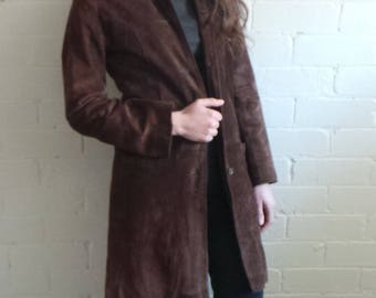 Outback Brown Suede Coat