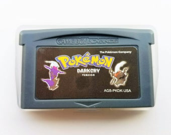 Pokemon Dark Cry Version Game Boy Advance GBA - Custom Fan Made Hack (US Seller)