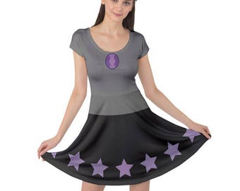 Amethyst Cosplay Dress - Amethyst Dress Steven Universe Dress Crystal Gem Dress Purple Dress Amethyst Short Sleeve Dress Geeky Dress