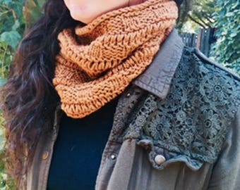 Hand Knit Cowls