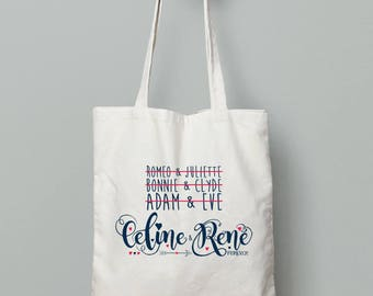 TOTE BAG Céline & René forever