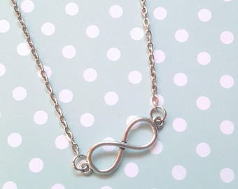 Infinity necklace, Infinity jewellery, Chain necklace, Infinity symbol, Simple chain necklace, Necklace chain, Infinity, Forever, Eternity