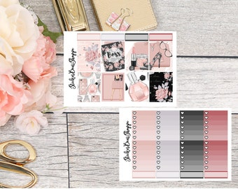 Make Up Weekly Kit Planner Stickers - For Erin Condren Life Planner