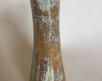Vintage Stangl 22K Gold Bud Vase