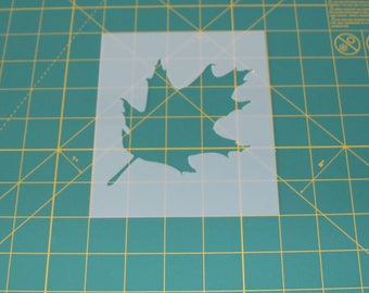 Oak Leaf Stencil - Reusable DIY Craft Stencils of an Oak Leaf