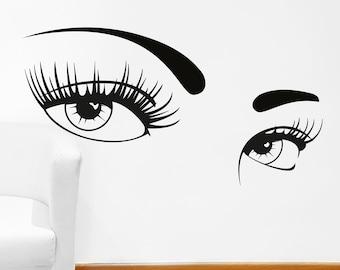 Beauty Salon Decal Etsy - Vinyl stickers design