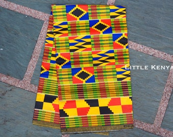 African fabric - Java - Ankara fabric - Tribal Clothing - HeadWrap - Kitenge - Java -  DressMaking - Table Cloth - By Yards