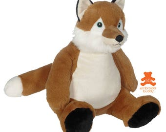 Personalised Plush Animal – Frederick Fox