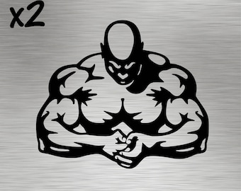 Two - Body Builder Decals