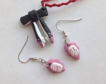 Splatoon 2 - Callie Earring and Necklace Set