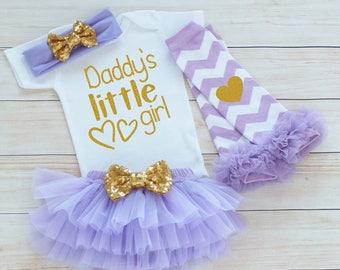 Baby Girl Shirt, Coming Home Bodysuit, Coming Home Outfit, Daddy's Girl Outfit, Baby Girl Coming Home Shirt, Baby Shower Gift, Infant Shirt