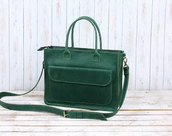 Leather Bag  / Leather Handbag / Tote Leather Bag / Totes / Women Gifts / leather laptop bag /Leather Messenger Bag / Leather Shoulder Bag
