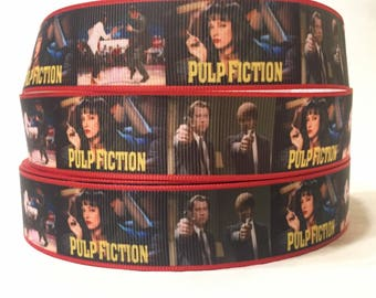 "1/3/5/10 Yards - 1"" Plup Fiction Grosgrain Ribbon"