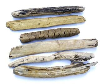 """10"""" drift wood sticks, 6 pc Assorted driftwood, Authentic selected natural sticks, Drift wood sticks, Driftwood Branches"""