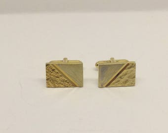 18k gold plated cufflinks