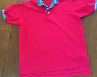 Pendleton Polo 90's Lobo by Pendleton Men's Color Block Polo Shirt Size Medium