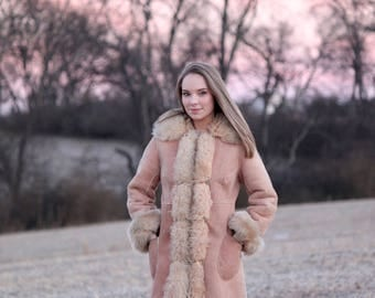 Ramblin' - Penny Lane Coat, Shearling Coat, 60's Coat, Sheepskin Coat, Afghan Coat, Almost Famous