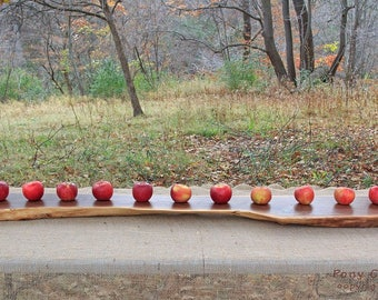 Black Walnut Serving Board / Harvest Board / Cheese / Charcuterie Serving Board / Foodie Gift / Wedding Gift / Anniversary Gift / Tree Slice