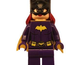 LEGO minifigures Custom batwoman Made with Original LEGO Parts