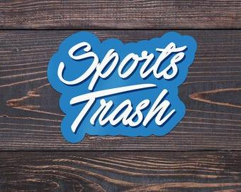 Sports Trash Anime Otaku Weatherproof Sticker