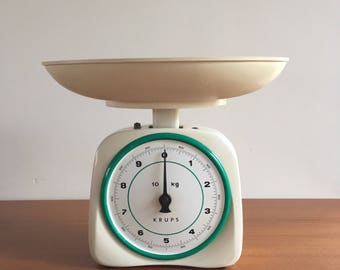 Krups Kitchen Scale from the years 50 60 with original scale! Made in Ireland