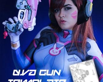 D.VA | Gun | Cosplay Template