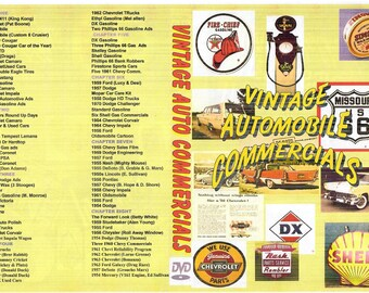 Vintage Auto Commercials on DVD