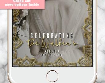 Custom Snapchat Filter, Wedding Snapchat Filter, Snapchat Geofilter Wedding, Wedding snap chat filter, Engagment Snapchat Filter, Mehndi