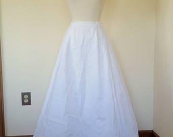 Silk Wedding Petticoat Crinoline Slip, Vintage Romona Keveza, Very High-End Wedding Slip