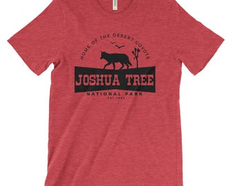 Joshua Tree National Park Adventure Unisex Bella Canvas Tshirt