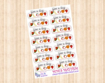 5 A Day // Diary // Planner // Stickers