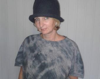Homburg hat, Steampunk Hat, Unisex hat, Gift for Him, Gift for Her, Women's gift, Womens Felt, Fedora Hat, Winter Accessories, Mad Women Hat