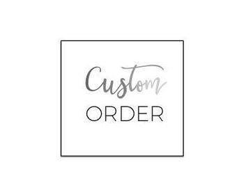 Custom Shirt Order for Barron Elementary