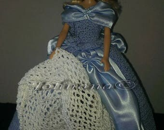 Cinderella Crocheted Outfit