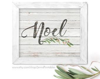 Noel Christmas Printable; Noel Christmas Printable Wall Art; Noel Christian Christmas Decor; Noel Printable Christmas Decor; Noel Printable