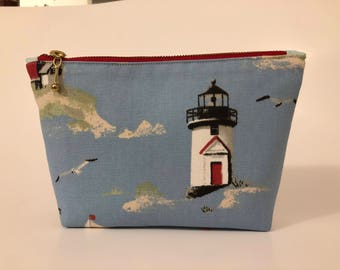 Lighthouse Zippered Bag